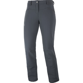 Salomon Wayfarer Straight Warm Pantaloni Donna, grigio